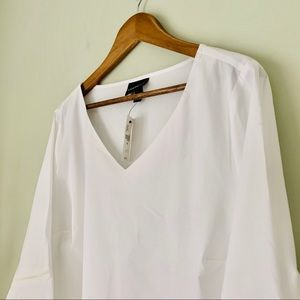 Lane Bryant Cotton Bell Sleeve Top NWT Size 18/20
